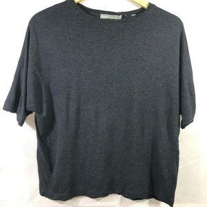 Vince Women's charcoal t shirt blouse size XS NWOT